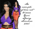 "Kim Kardashian's ""What Not to Wear"" in Gucci SS11"