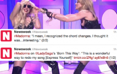 Madonna Calls Gaga Out