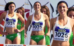 Olympic Hurdler Michelle Jenneke&#8217;s Sexy Pre-Race Dance