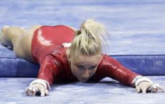 Falling Olympic Athletes