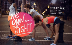Own The Night With Nike+