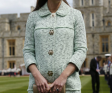 Kate Middleton Dresses Baby Bump In Mulberry