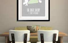 The Great Gatsby Litograph Print