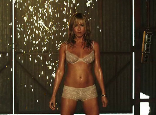 Watch: Jennifer Aniston Strips For New Film We're The Millers