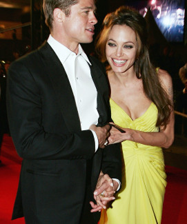 MR & MRS PITT: BRAD AND ANGELINA GET HITCHED!