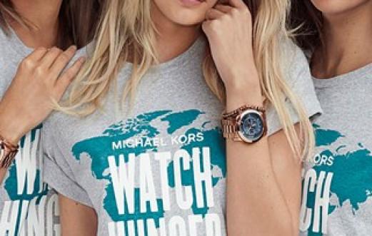 MICHAEL KORS' #WATCHHUNGERSTOP PLEDGE