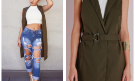 GET THE LOOK: Sleeveless Jackets