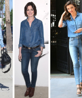HOW TO PULL OFF DOUBLE DENIM