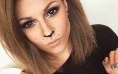 HOW TO: Lion/Cat Halloween Makeup