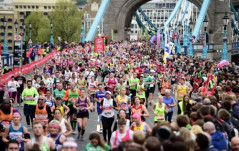 THE LONDON MARATHON IS COMING