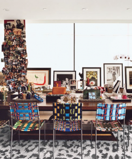 INSIDE THE HOME OF A FASHION DESIGNER
