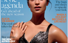 ALICIA VIKANDER COVERS BRITISH VOGUE