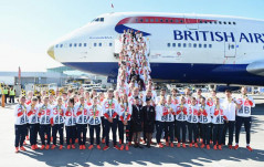 WELCOME HOME TEAM GB