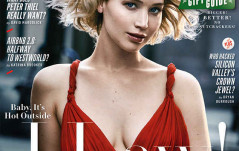 JENNIFER LAWRENCE OF THE COVER OF VANITY FAIR