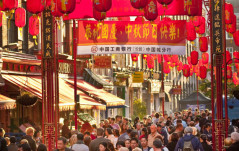 CHINATOWN CELEBRATES THE ROOSTER