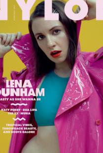 LENA DUNHAM'S SHOOT FOR NYLON