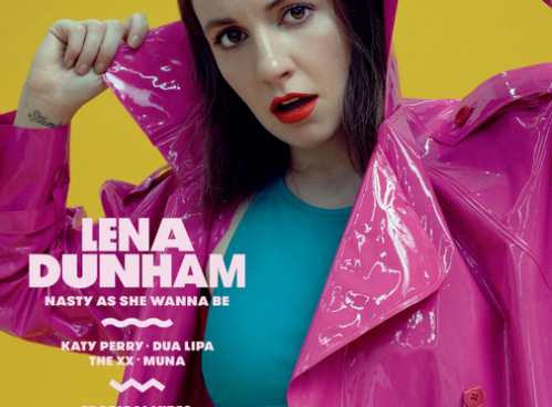LENA DUNHAM'S SHOOT FOR NYLON