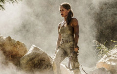FIRST LOOK AT ALICIA VIKANDER AS LARA CROFT