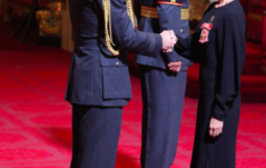 VICTORIA BECKHAM AS OBE RECIPIENT