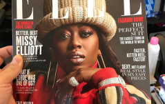 MISSY ELLIOT ON THE COVER OF ELLE