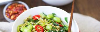 GREEN TEA & COURGETTE NOODLES RECIPE