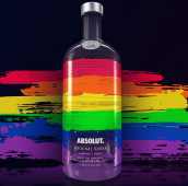 ABSOLUT VODKA: LIMITED EDITION PRIDE BOTTLE
