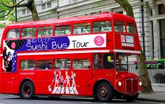BRIGIT'S BAKERY SUSHI BUS