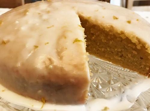 ORANGE & LEMON DRIZZLE CAKE USING MICROPLANE