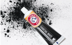 NEW ARM AND HAMMER CHARCOAL WHITE TOOTHPASTE
