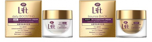 NEW SKINCARE 'L;FT' BY BOOTS