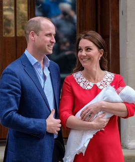 FIRST ROYAL BABY PICTURE