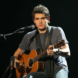John Mayer on stage