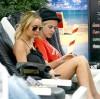 Lindsay and Samantha Ronson