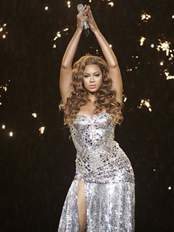 Beyonce will be at the F1 Rocks concert