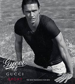 James Franco for Gucci Sport