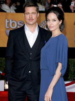 Brad & Angelina at the SAG Awards