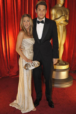 Jen & John at the Oscars