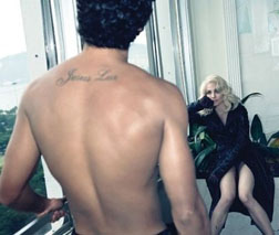 Madonna and Jesus for W