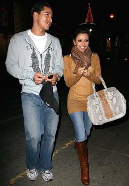 Mario Lopez and Eva Longoria Parker