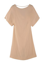 1. Elizabeth and James Pink Crepe Dress