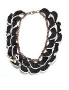 Adorisadora Gorgera Black & White Necklace