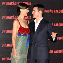 Tom and Katie in Brazil