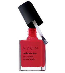 Avon Nailwear Pro in Real Red