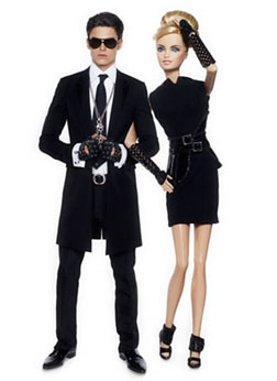 Barbie & Ken get the Karl Look