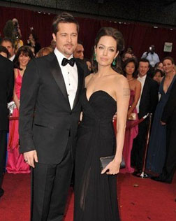 Angelina Jolie with Brad