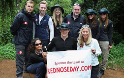Celebrities Climb Mount Kilimanjaro For Comic Relief