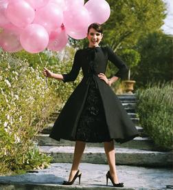 Emma Roberts as Audrey Hepburn