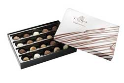 Godiva limited edition Dessert Truffles Collection
