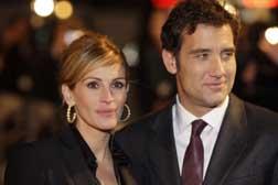 Julia and Clive Owen