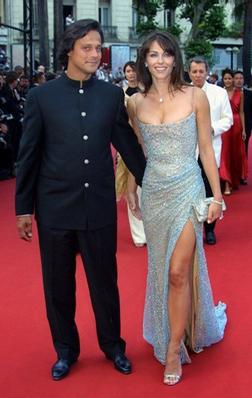 Liz Hurley & Arun Nayar